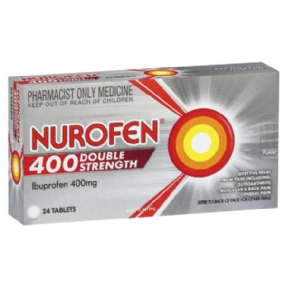 Nurofen Double Strength 400mg 24 Tablets