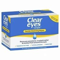 Murine Clear Eyes Wipes