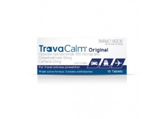 Travacalm Original 10 Tablets