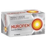 Nurofen Ibuprofen Pain Relief Tablets 200mg 96