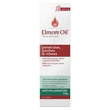 Elmore Oil Muscle and Joint Heat Cream 100g
