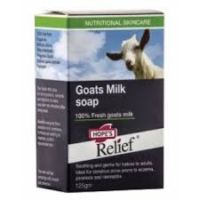 Hope's Relief goat milk bar 125g