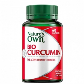 Natures Own Bio-Curcumin 550mg 60 Capsules