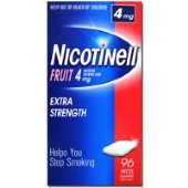 Nicotinell Fruit Chewing Gum 4mg 96 Pieces