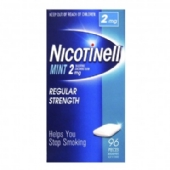 Nicotinell Mint Chewing Gum 2mg 96 Pieces